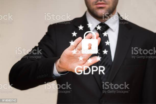 General Data Protection Regulation - Fotografie stock e altre immagini di 2018
