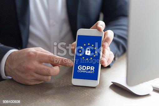 940100488 istock photo General Data Protection Regulation 936400508