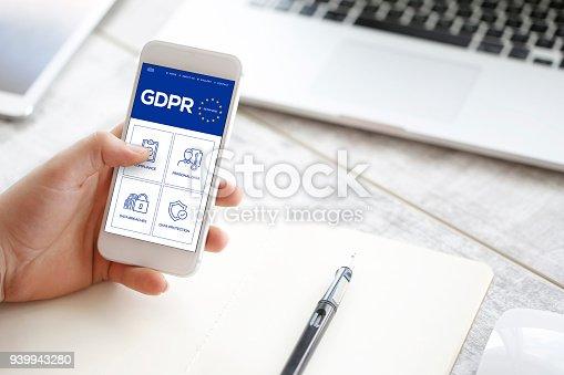 940100488 istock photo General Data Protection Regulation 939943280
