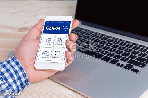 940100488 istock photo General Data Protection Regulation 942550646
