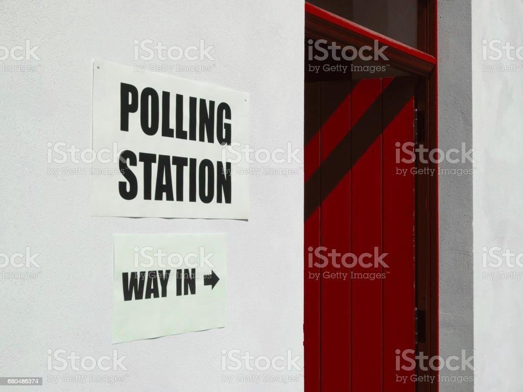 Allgemeine Wahlen Wahllokal – Foto