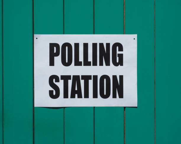 general elections polling station - polling place stock pictures, royalty-free photos & images