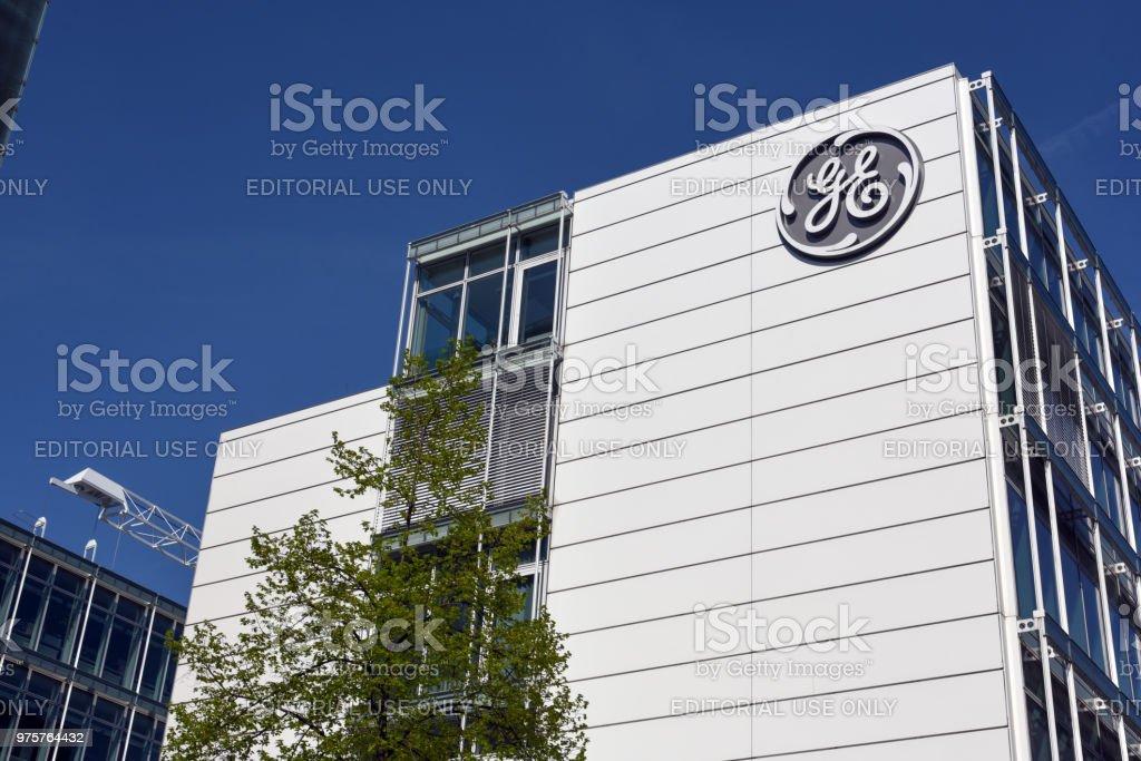 General Electric Switzerland stock photo