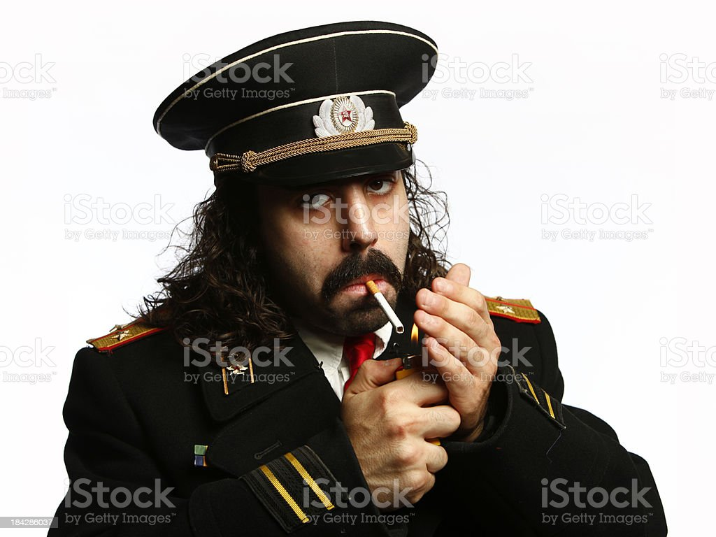 General Lights Cigaret royalty-free stock photo