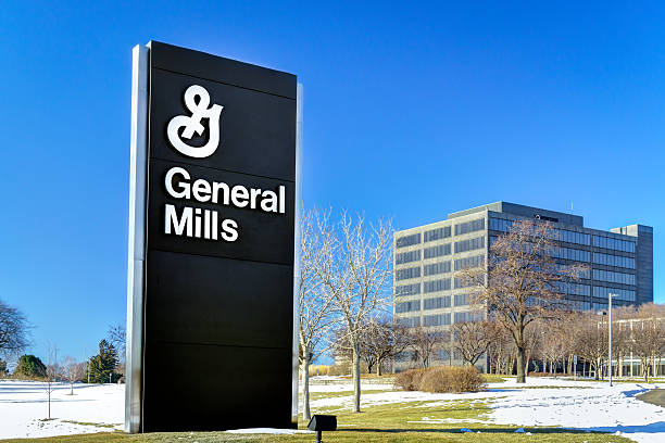 General Mills Corporate Headquarters and Sign stock photo