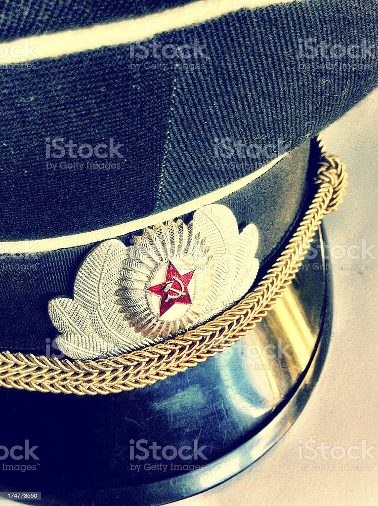 USSR General royalty-free stock photo