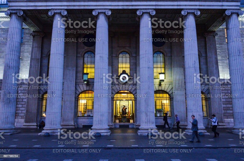 General Post Office in Dublin, Ireland stock photo