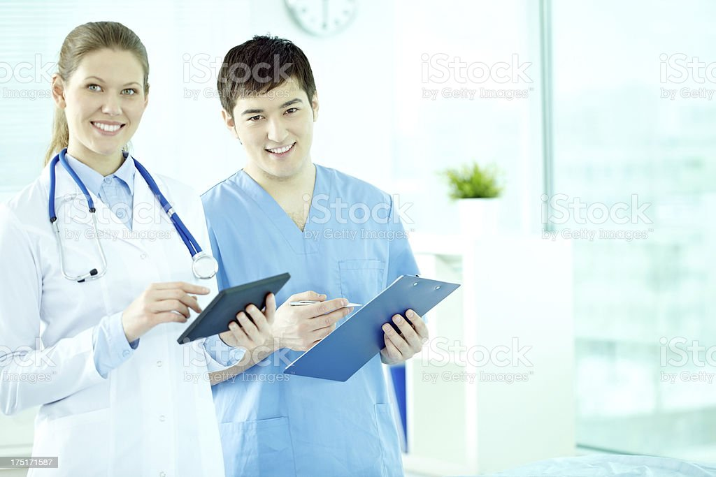 General practitioner royalty-free stock photo