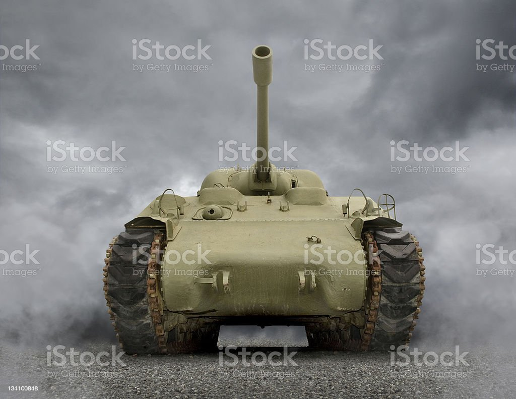 General Sherman Tank stock photo
