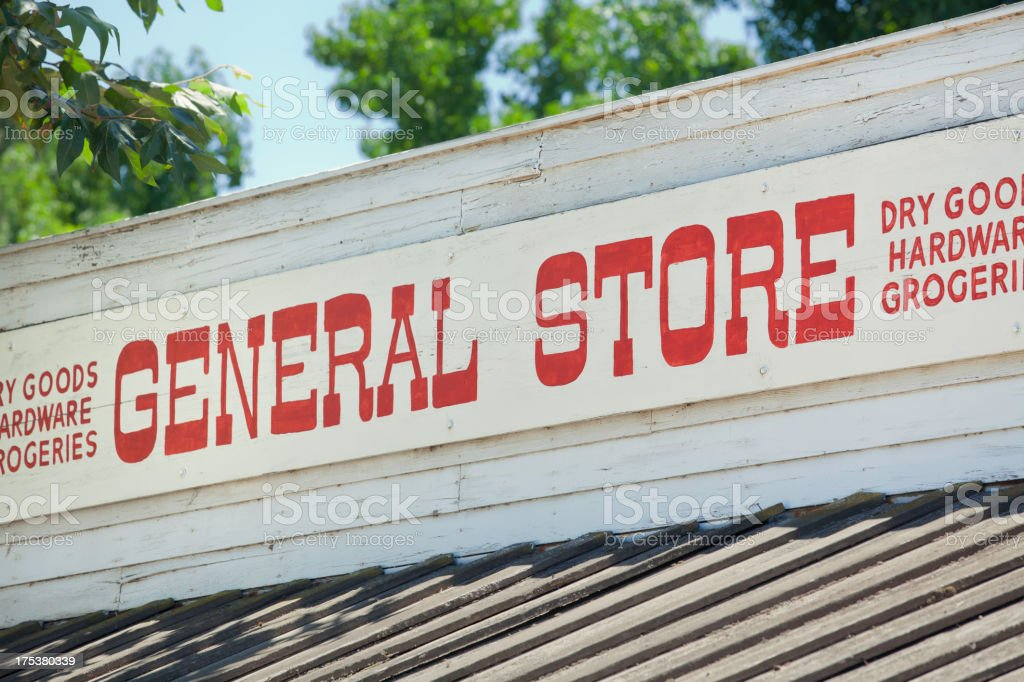 General store stock photo