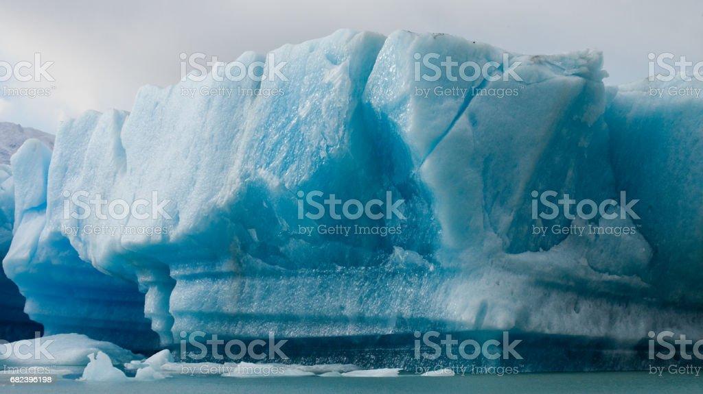 General view of the Perito Moreno Glacier. photo libre de droits