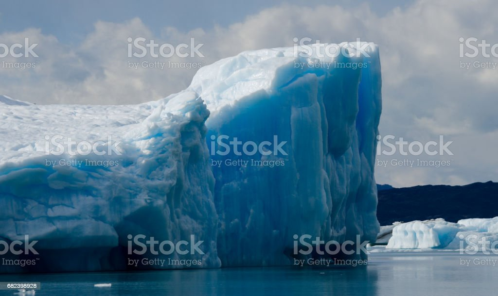 General view of the Perito Moreno Glacier. royalty-free stock photo
