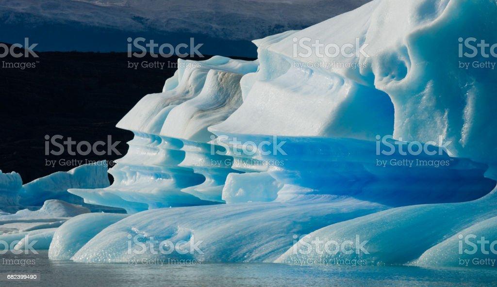 General view of the Perito Moreno Glacier. royalty-free stock photo
