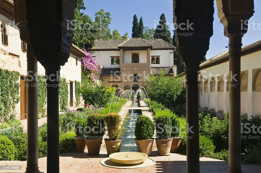 Generalife stock photo