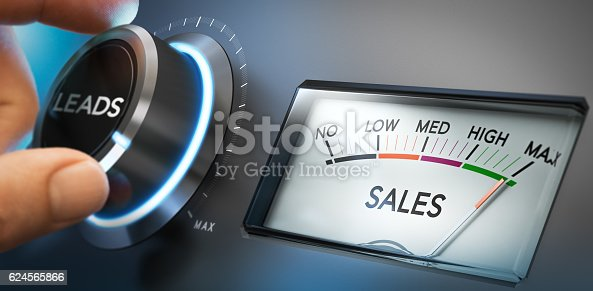 1131526784 istock photo Generate More Leads and Sales 624565866