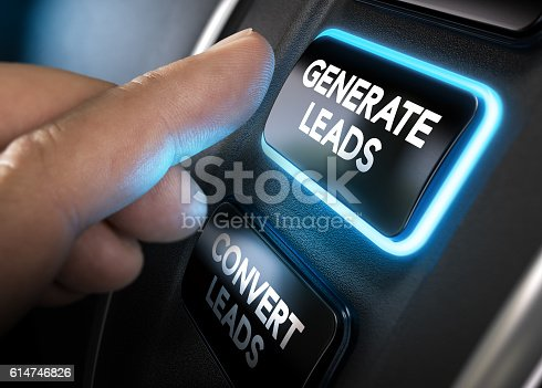 istock Generating and Converting Sales Leads 614746826