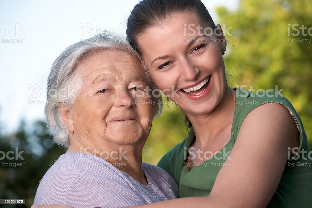 Generation gap royalty-free stock photo