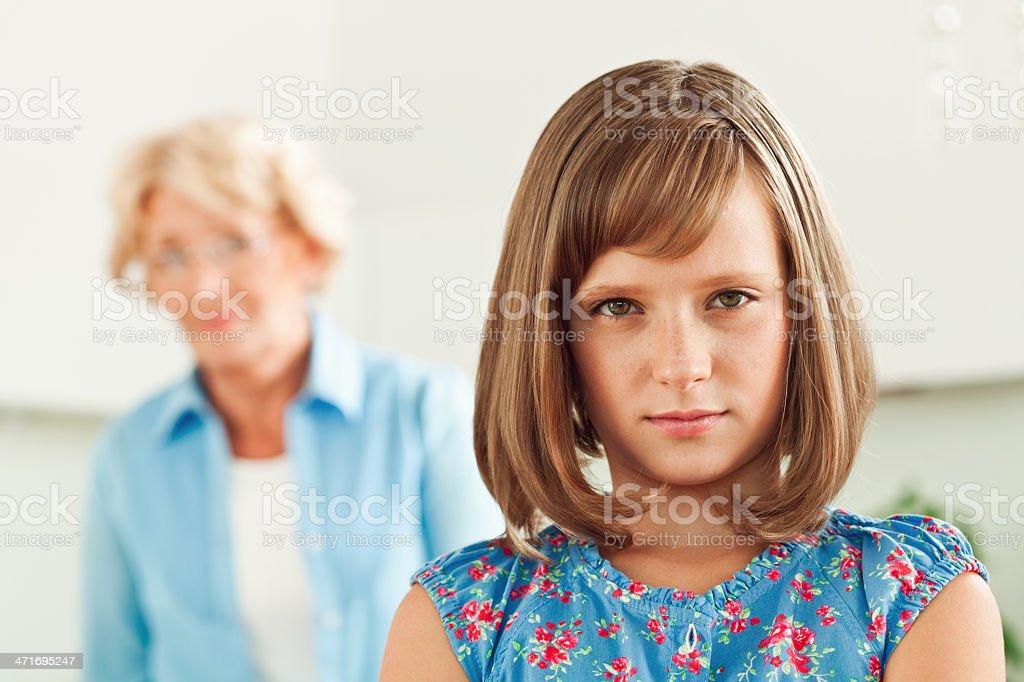 Generation gap royalty-free stock photo