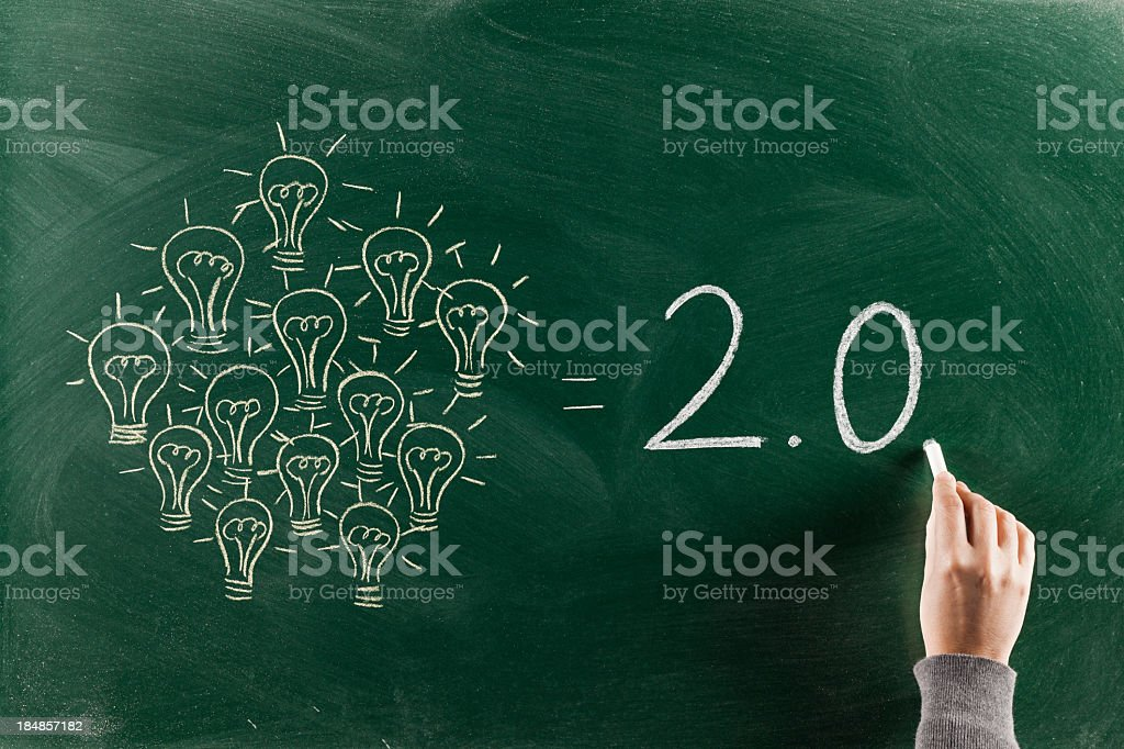 2.0 Generation stock photo