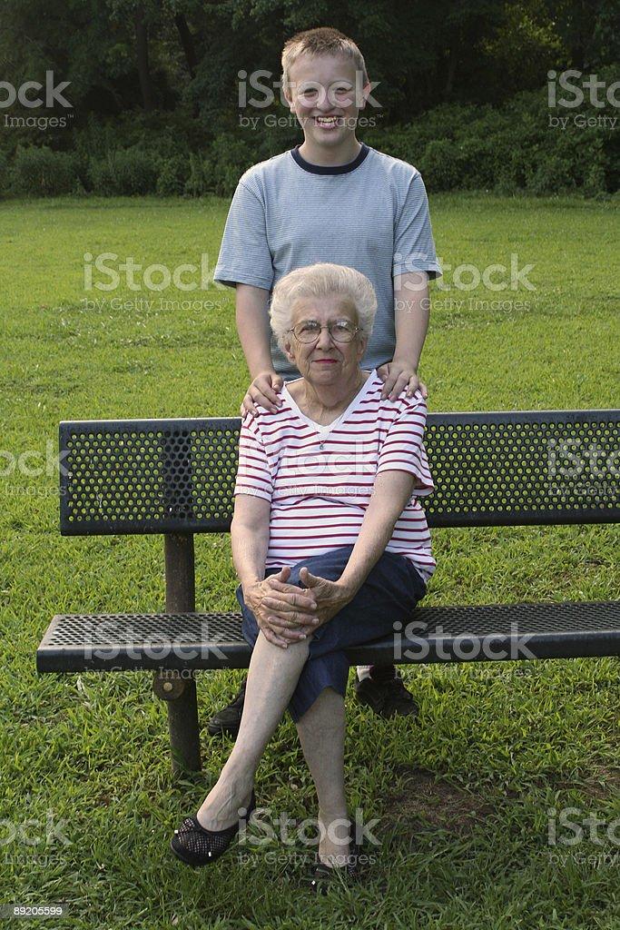 Generation Portrait 2 royalty-free stock photo