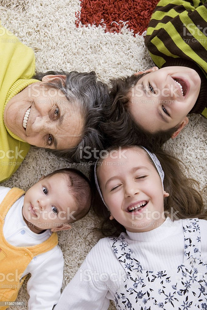 Generation series royalty-free stock photo