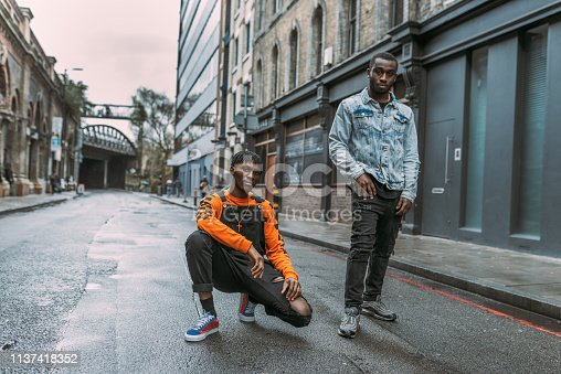 istock Generation Z - African ethnicity youth living in the city - United Kingdom 1137418352