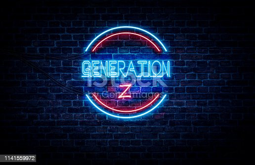 istock Generation Z sign 1141559972