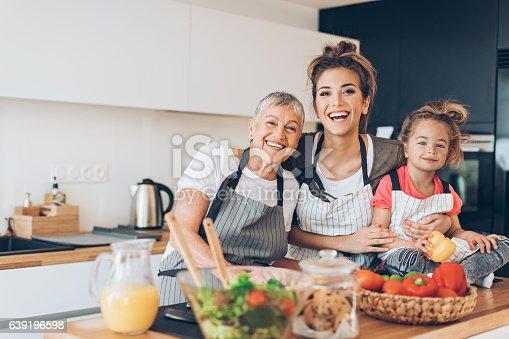 istock Generations of femininity 639196598
