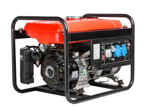 generador ac - motor portátil - generadores fotografías e imágenes de stock