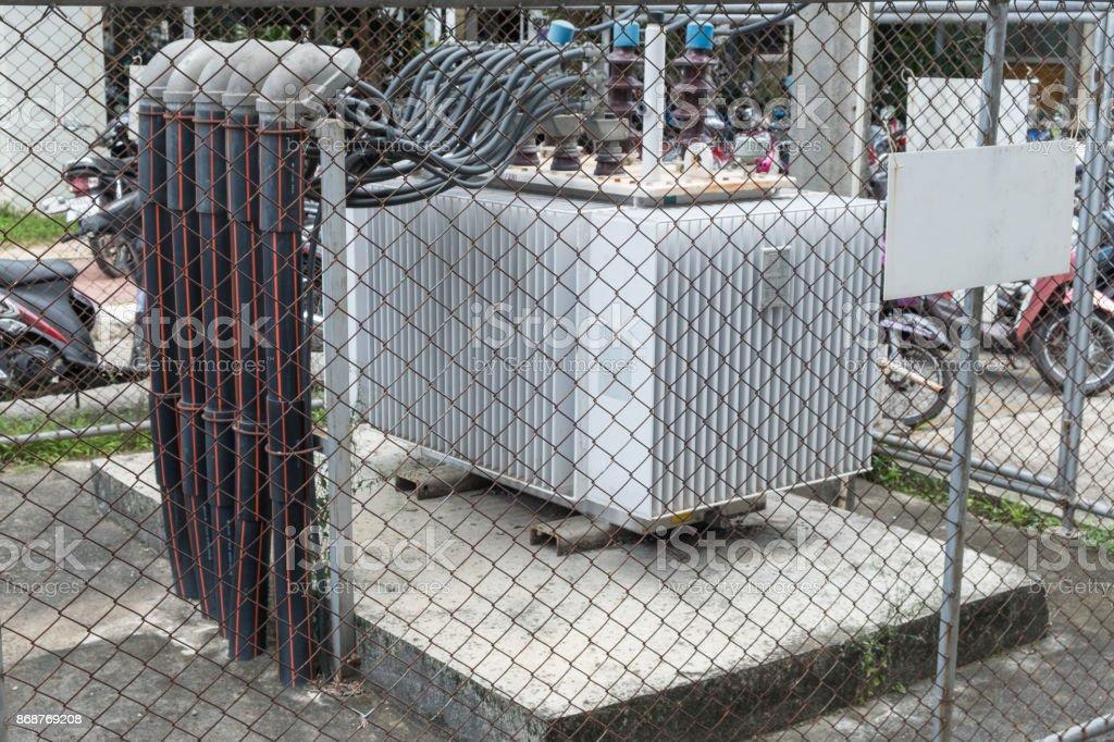 Generator in hopital stock photo