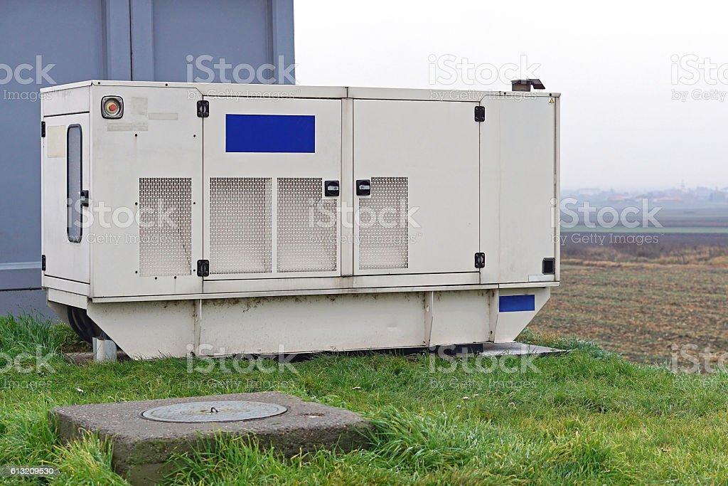 Generator stock photo