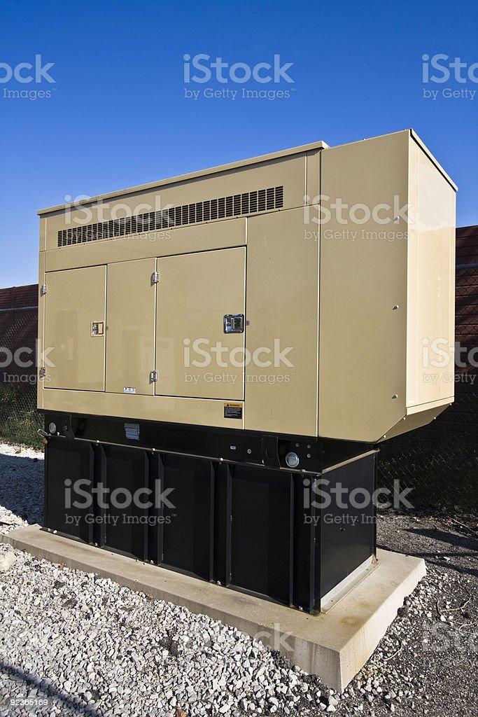 Elektrischer Generator Lizenzfreies stock-foto
