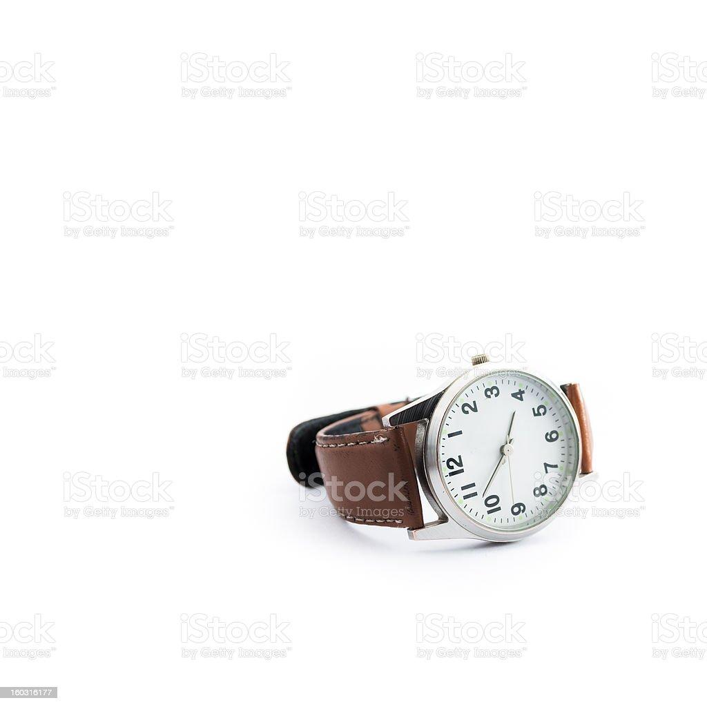 Generic Analog Wristwatch royalty-free stock photo