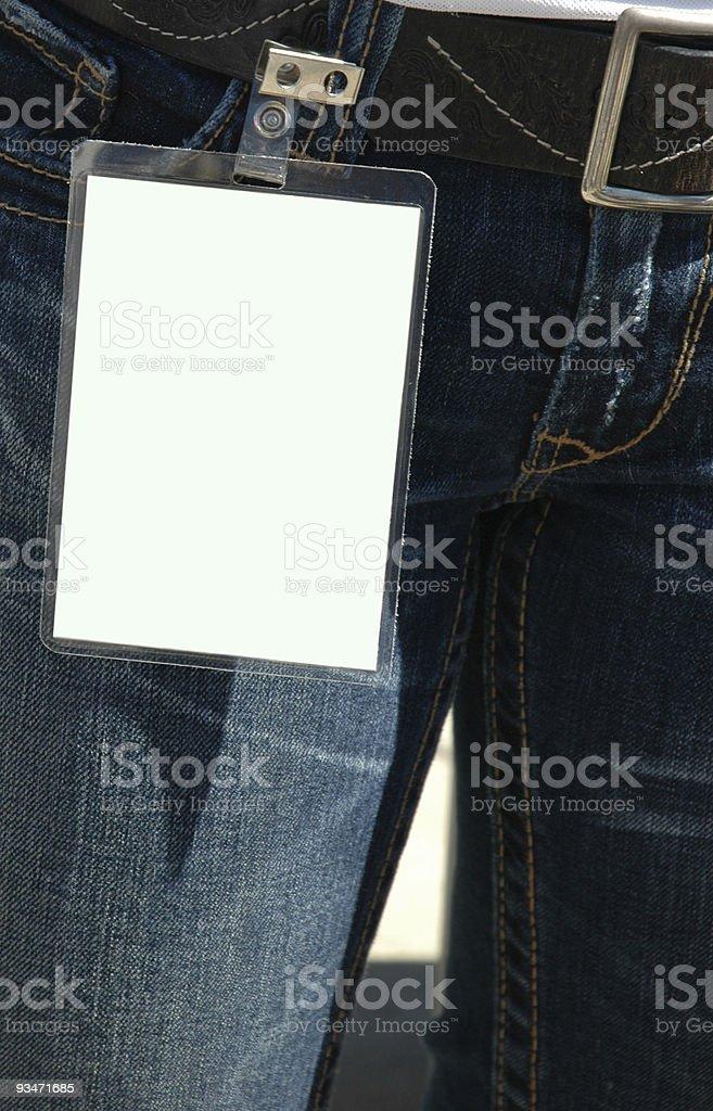 Generic Backstage Pass stock photo