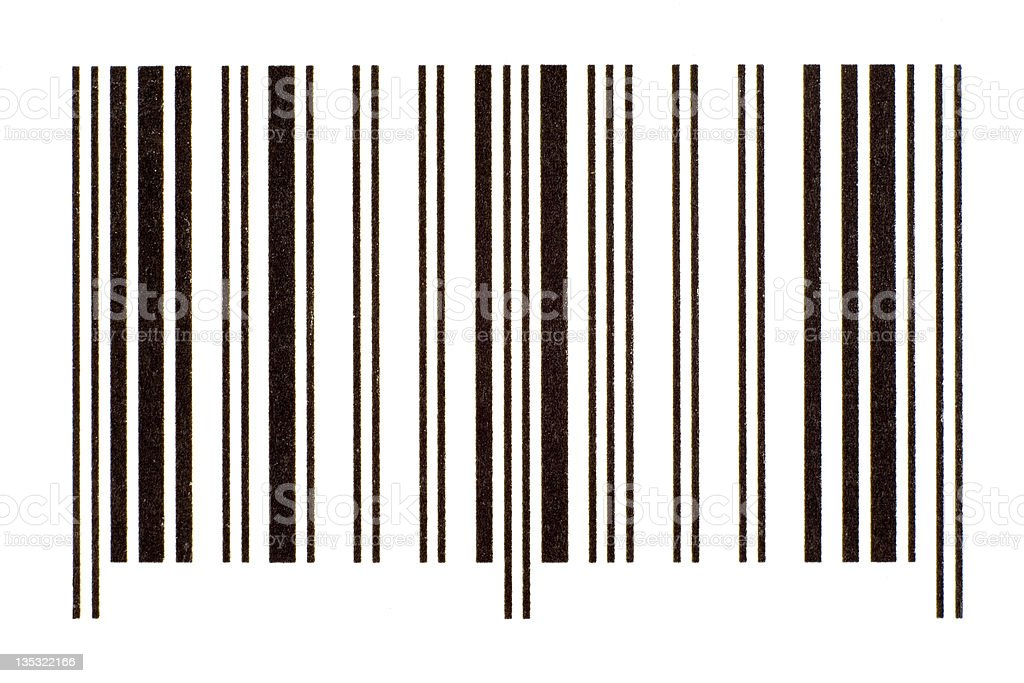 Generic Bar code royalty-free stock photo
