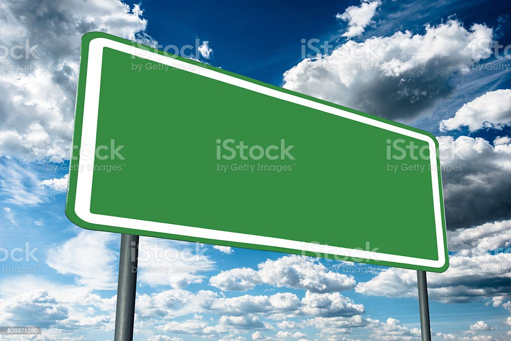 generic blank road sign zbiór zdjęć royalty-free