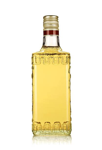 Bouteille de tequila gold - Photo