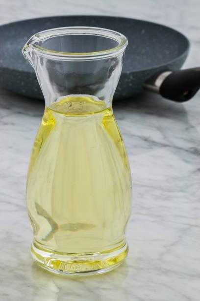 generic cooking oil - palm oil bottles imagens e fotografias de stock