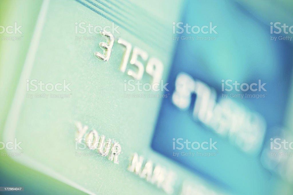 generic credit card royalty-free stock photo