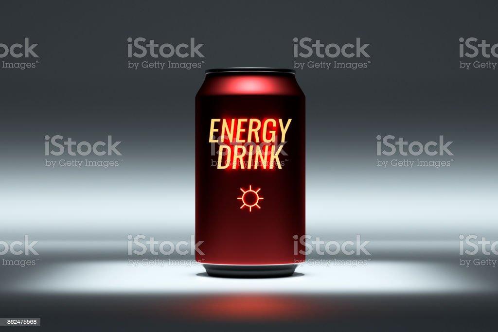 Allgemeine Energie Getränk konzeptionelle Produktbild – Foto