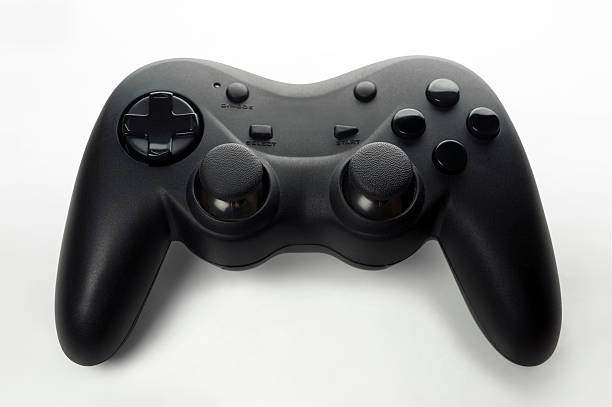 Generic gamepad Generic gamepad isolated on a white background gamepad stock pictures, royalty-free photos & images
