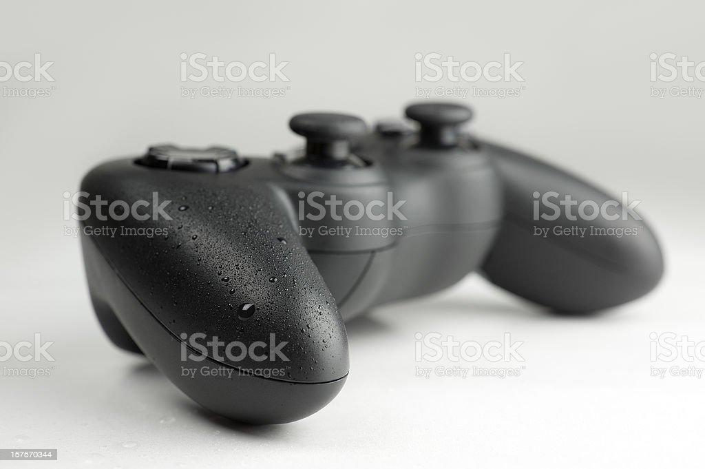 Generic gamepad stock photo