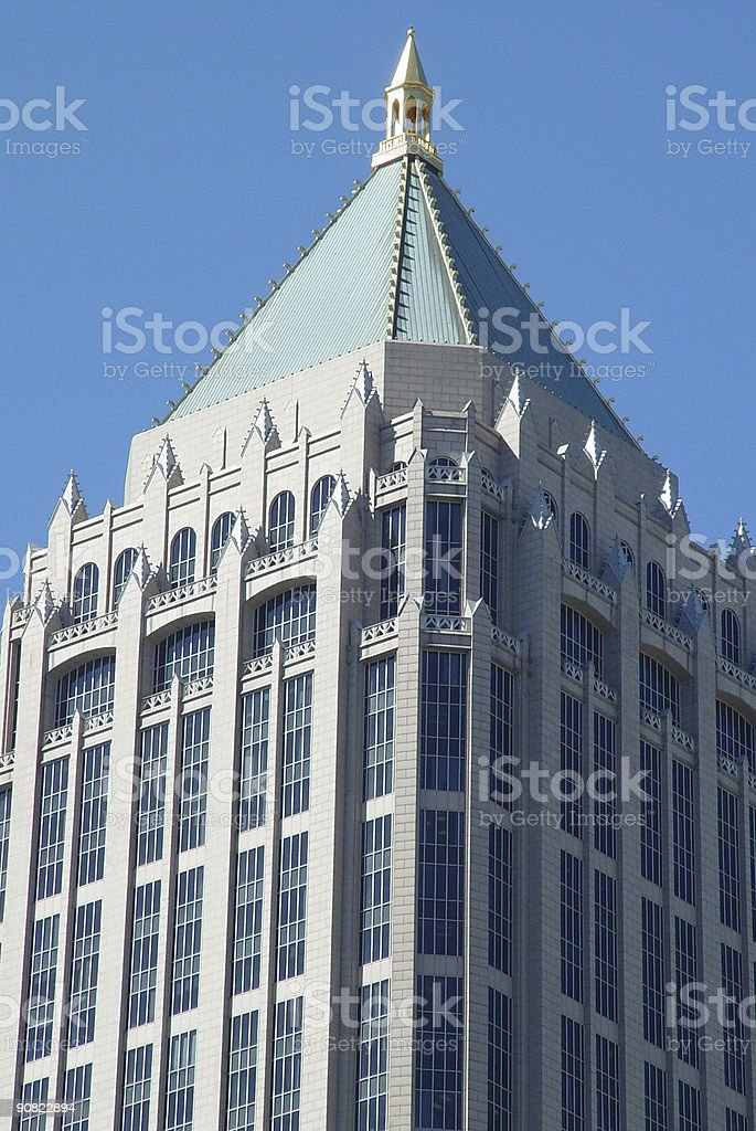 Generic Highrise Building royalty-free stock photo