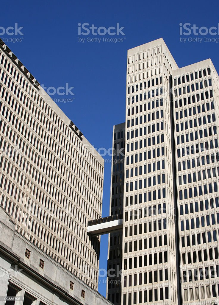 Generic Highrise Buildings royalty-free stock photo