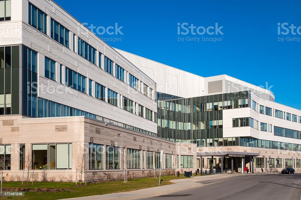 Generic Hospital Building stock photo