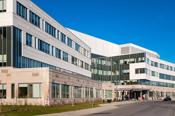 generic hospital building - hospital building stock photos and pictures