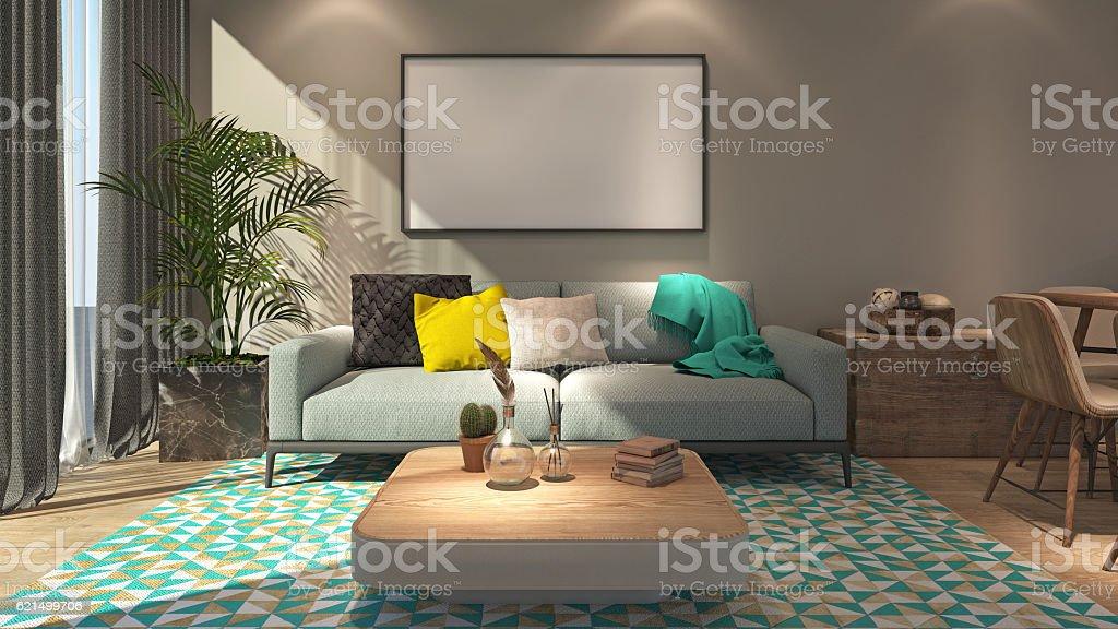 Generic interior foto stock royalty-free