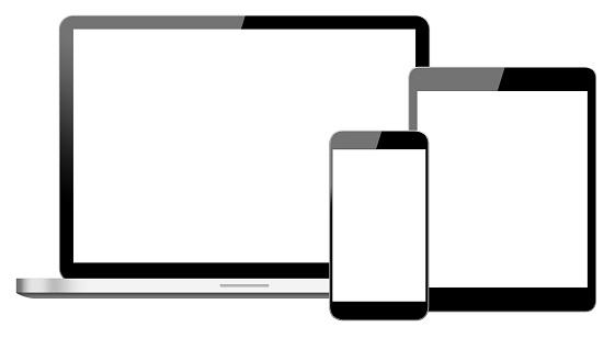 Generic Laptop, Digital Tablet and Smart Phone