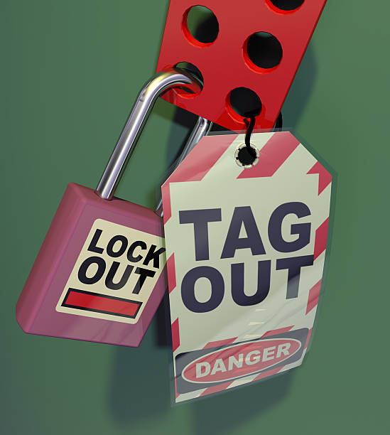 Generic Lockout Tagout Generic Lockout Tagout. Safety Measures used to secure equipment while under repair, inspection or out of service lockout stock pictures, royalty-free photos & images