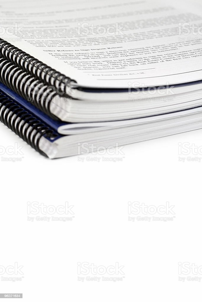 generic manual stock photo